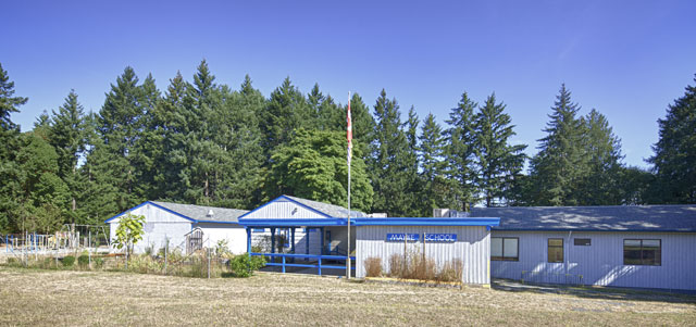 Mayne School on Mayne Island