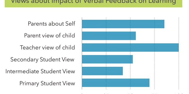 Impact of Verbal Feedback on Learning