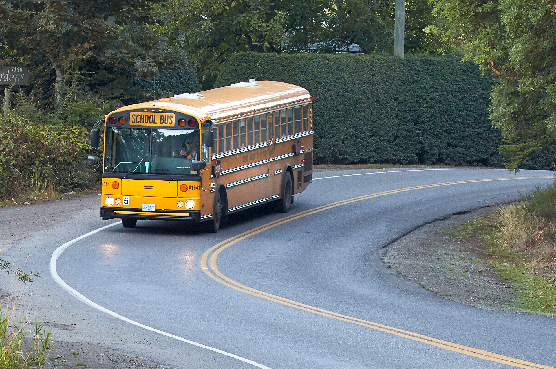 Transportation Funding Increases for Gulf Islands Schools