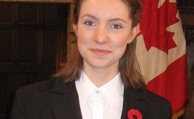 GISS Grad Isabella Carlyle Now a Parliamentary Page