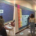Mr. Mitchell's Gr. 10 Class builds huge Periodic Table (Ian Mitchell)
