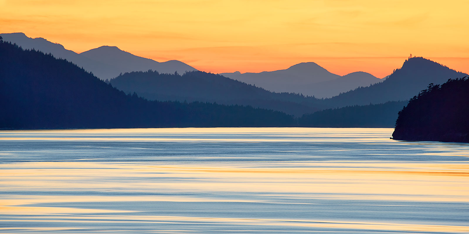 The gulf Islands ©johncameron.ca
