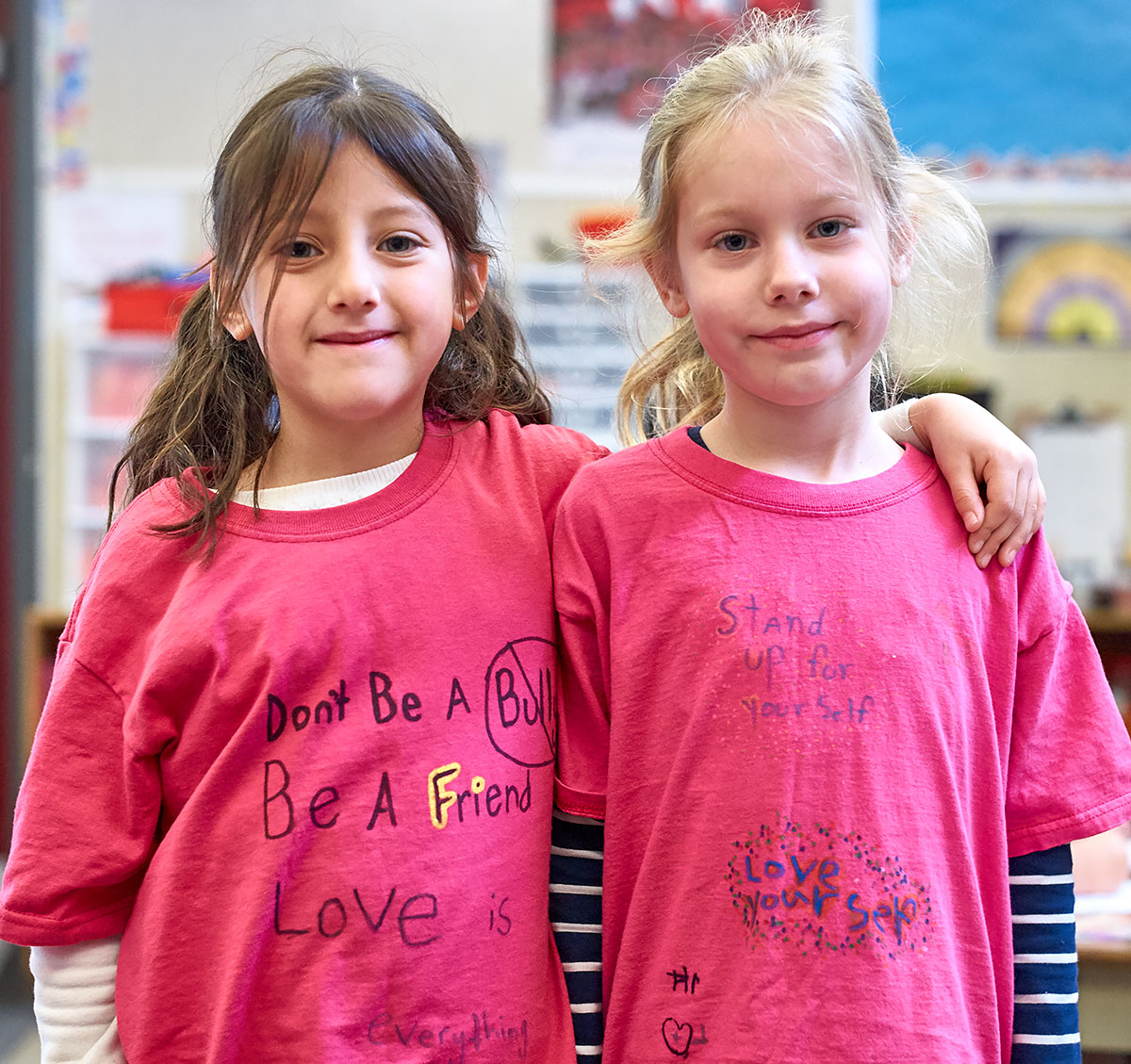Pink Shirt Day at Fernwood (John Cameron)