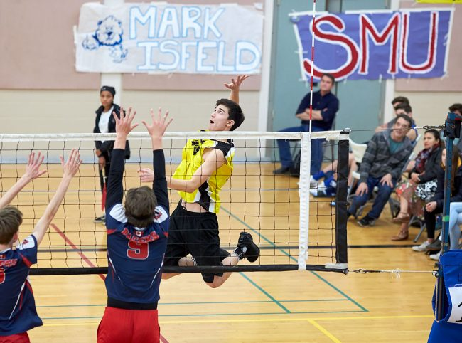 GISS Sr. Boys host Islands (John Cameron)
