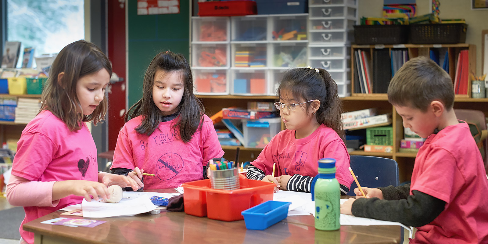 Pink Shirt Day at Fernwood ©johncameron.ca