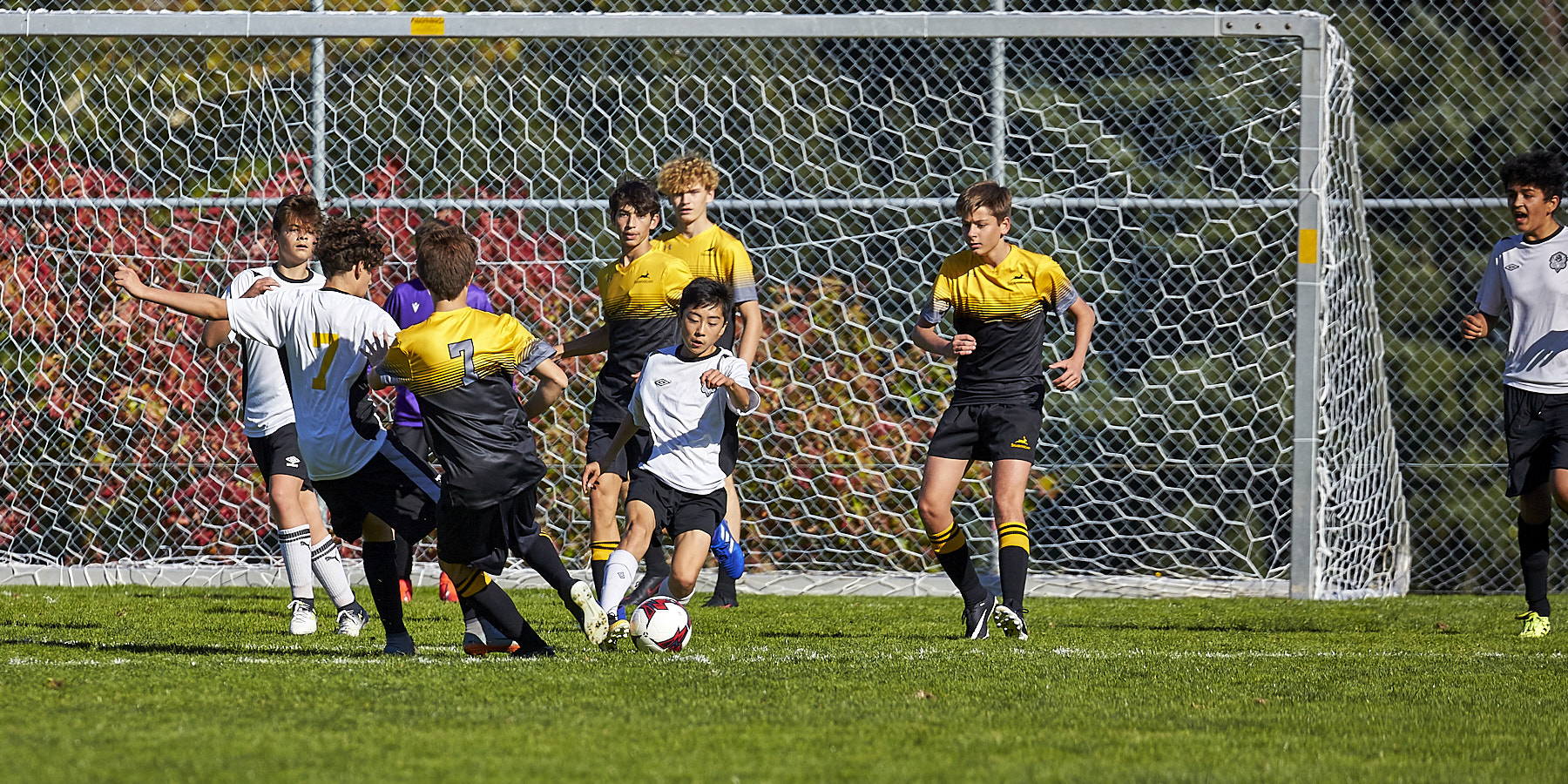 GISS Jr. Boys soccer vs Shawnigan