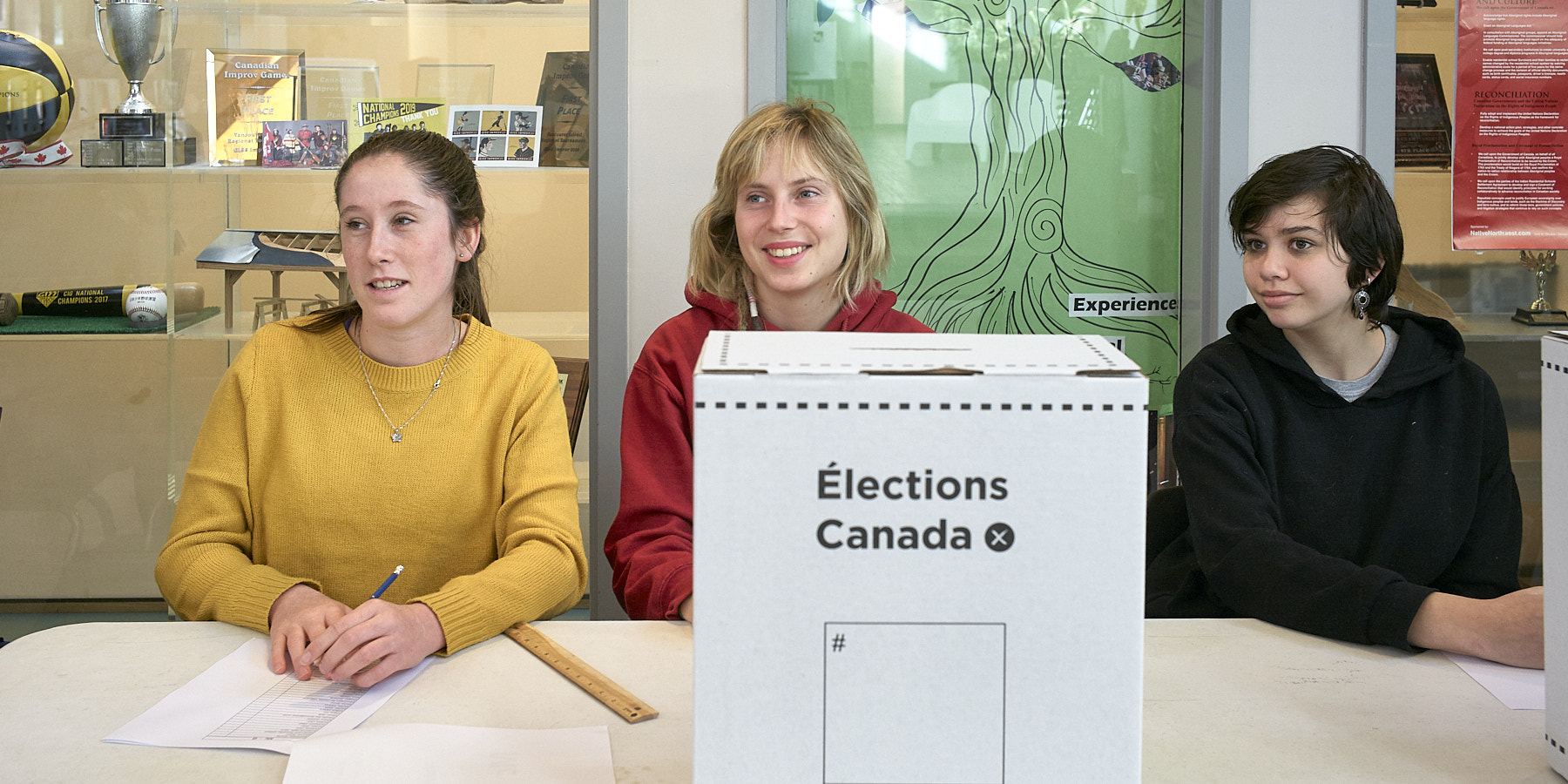 Student Vote 2019 Federal Election ©johncameron.ca