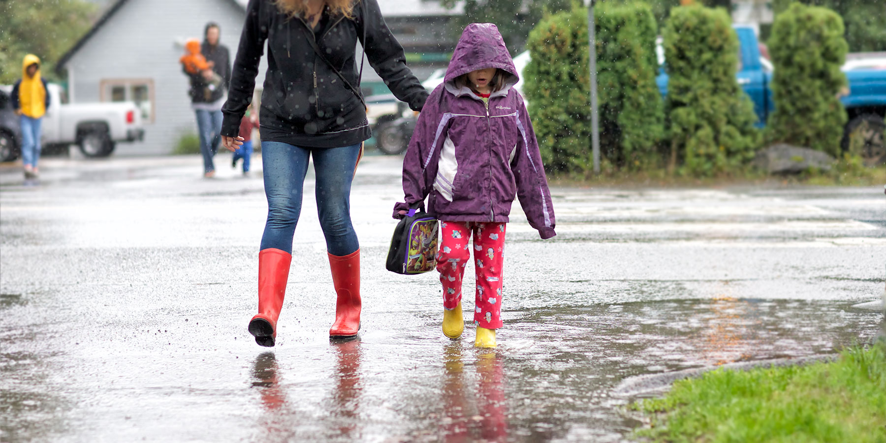 Rainy School Day ©johncameron.ca