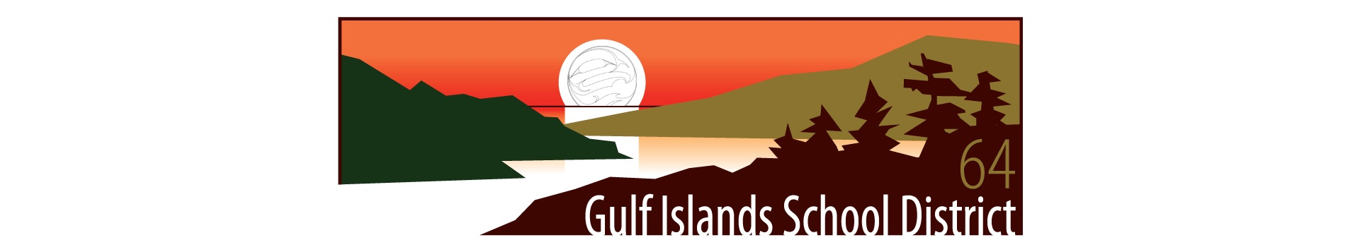 SD64 Gulf Islands Logo